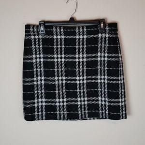 JCrew Plaid Skirt sz 10